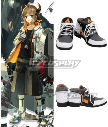 Arknights Bison Gray Cosplay Shoes
