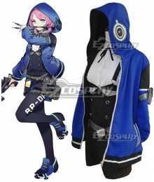 Arknights Blue Poison Cosplay Costume