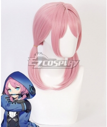 Arknights Blue Poison Pink Cosplay Wig