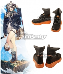 Arknights Cliffheart Vitafield Rewilder Black Cosplay Shoes