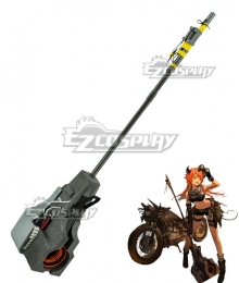Arknights Croissant SK03 Hammer Cosplay Weapon Prop