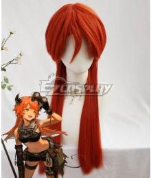 Arknights Croissant SK03 Orange Cosplay Wig