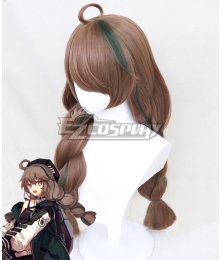 Arknights Cuora Brown Cosplay Wig