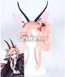 Arknights Earthspirit Pink Cosplay Wig