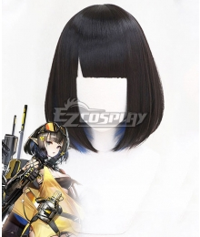 Arknights Eunectes Black Cosplay Wig