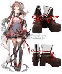 Arknights Eyjafjalla  Shoes Cosplay Boots