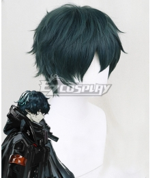 Arknights Faust Green Cosplay Wig