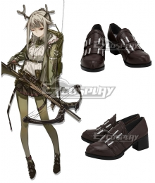 Arknights Firewatch Brown Cosplay Shoes