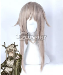Arknights Firewatch Gray Cosplay Wig