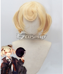 Arknights Гум Golden Cosplay Wig