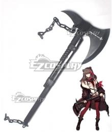 Arknights Зима Hatchet Cosplay Weapon Prop