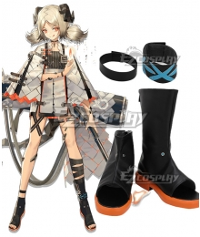 Arknights Ifrit Black Cosplay Shoes