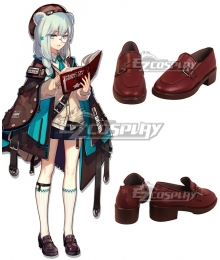 Arknights Истина Istina Red Cosplay Shoes