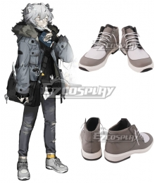 Arknights Jaye Grey Cosplay Shoes