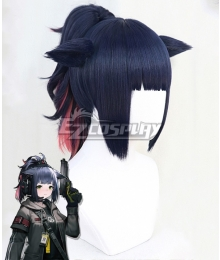 Arknights Jessica Blue Cosplay Wig