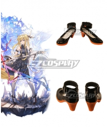 Arknights Leizi Elite Promotion Black Cosplay Shoes
