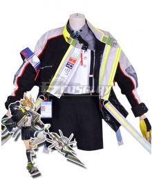 Arknights Leonhardt Cosplay Costume