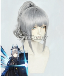 Arknights Liskarm Gray Cosplay Wig