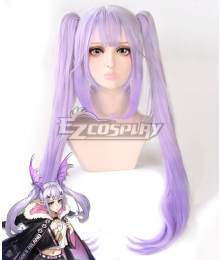 Arknights Manticore Purple Cosplay Wig