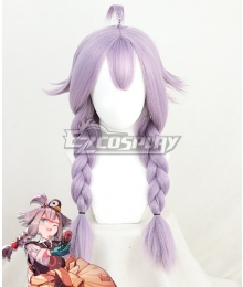 Arknights May Purple Cosplay Wig