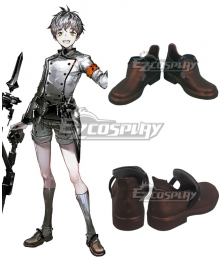 Arknights Mephisto Brown Cosplay Shoes