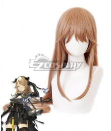 Arknights Meteorite Brown Cosplay Wig