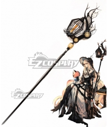 Arknights Nightingale Witch Feast Staves Cosplay Weapon Prop