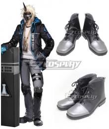 Arknights Noir Corne Gray Cosplay Shoes