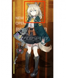 Arknights Podenco Golden Cosplay Wig