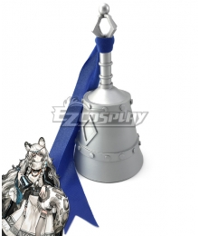 Arknights Pramanix Cosplay Bell Weapon Prop