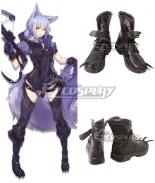 Arknights Provence Black Cosplay Shoes