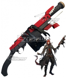 Arknights Sesa Gun Cosplay Weapon Prop