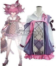Arknights Shamare Pink Cosplay Costume