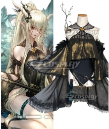 Arknights Shining Coral Coast Skin Cosplay Costume