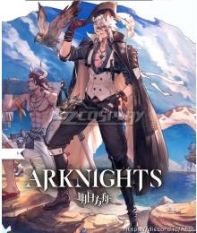 Arknights Silverash SKm01 Summer Skin Cosplay Costume
