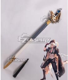 Arknights Silverash SKm01 Summer Skin Sword Cosplay Weapon Prop