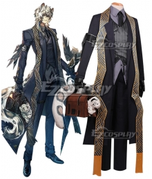 Arknights Silverash York's Cold Wind Cosplay Costume