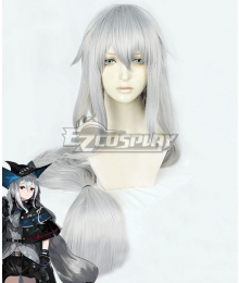Arknights Skadi Silver Cosplay Wig