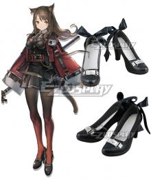 Arknights Skyfire Black Cosplay Shoes