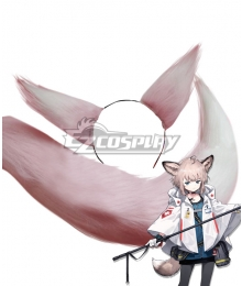 Arknights Sussurro Pink Cosplay Ears and Tail Cosplay Accessory Prop