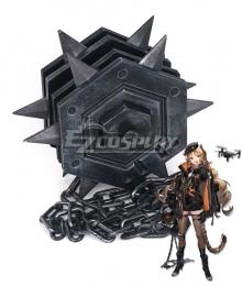 Arknights Swire Meteor Hammer Cosplay Weapon Prop