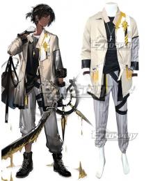 Arknights Thorns Black Cosplay Costume