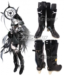 Arknights Tomimi Black Cosplay Shoes