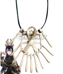 Arknights Tsukinogi Necklace Cosplay Accessory Prop