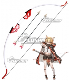 Arknights Vermeil Bow Arrow Cosplay Weapon Prop
