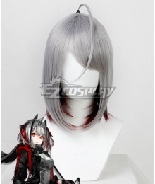 Arknights W Gray Cosplay Wig
