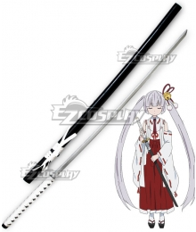 Armed Girl's Machiavellism Tsukuyo Inaba Sword Cosplay Weapon Prop