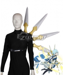 Sword Art Online Alicization War Of Underworld SAO Asada Shino Cosplay Weapon Prop