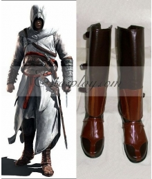 Assassin's Creed II Ezio Cosplay Boots-055