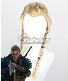 Assassin's Creed Valhalla Eivor Golden Cosplay Wig